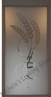 Etched window