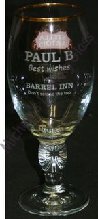 etched corporate gift