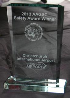 Etched Glass Award