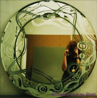 Mirror sandblasted / etched and textured