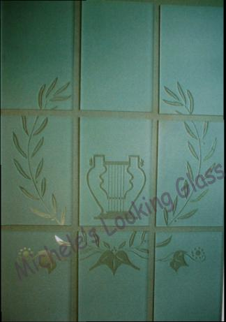 Glass Panes For Inner Door Etching On Windows And Glass Doors