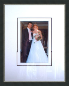 Framed Wedding Photos