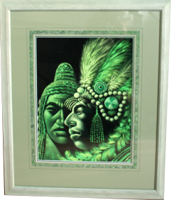 Framed original painting