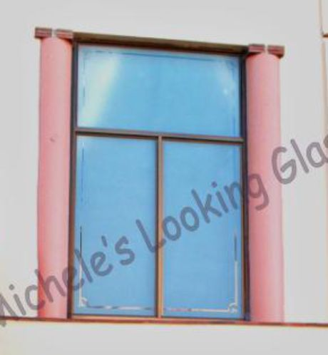Window etched etching on windows and glass doors for Window and door visualiser